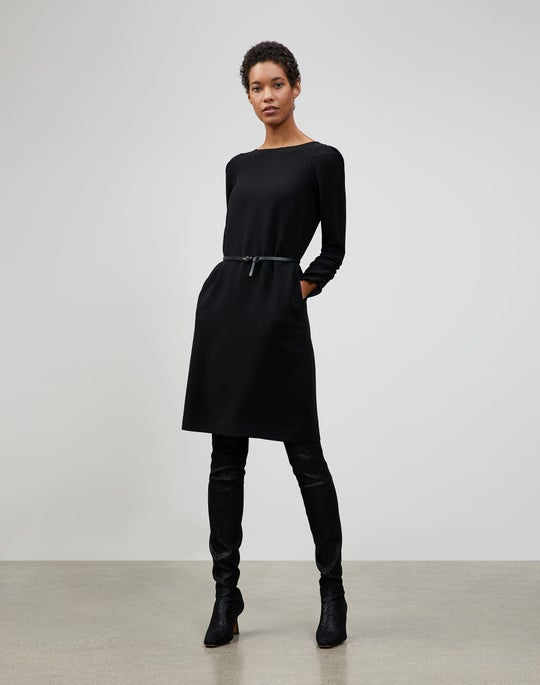 Plus-Size Finesse Crepe Romilly Dress