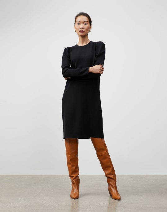 Finesse Crepe Gia Shift Dress