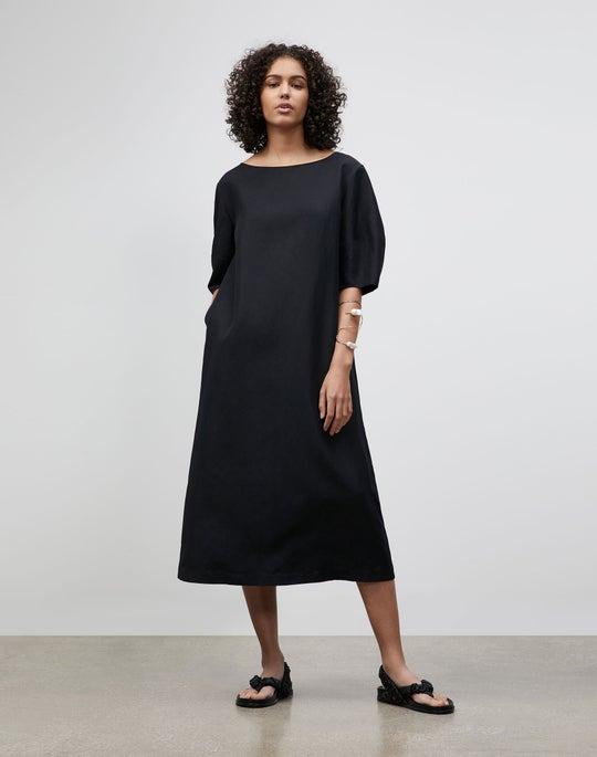 Plus-Size Cait Midi Dress In Coastal Cloth
