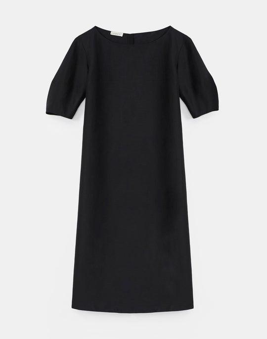 Cait Midi Dress In Coastal Cloth