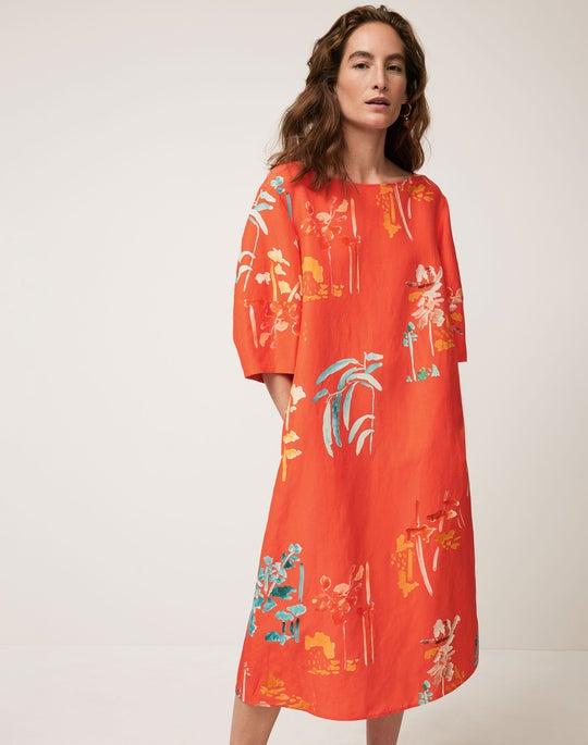 Cait Midi Dress Outfit