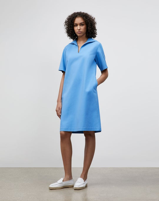 Plus-Size Andie Dress In Fundamental Bi-Stretch