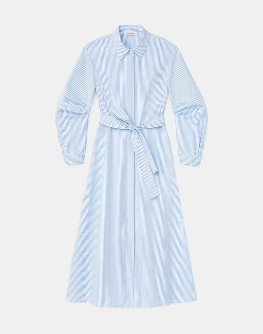 Cailyn Shirtdress In KindCotton Courtland Stripe