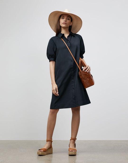 Brennan Dress In Italian Crafted Taffeta