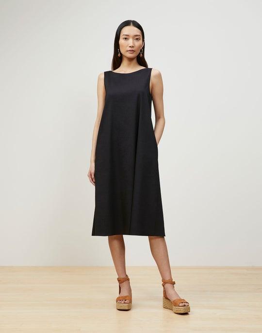 Hartley Convertible Dress In Aria Linen