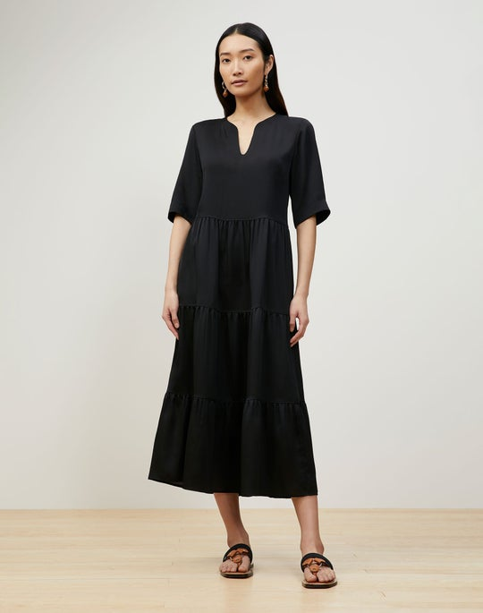 Selma Dress In Carlisle Cloth