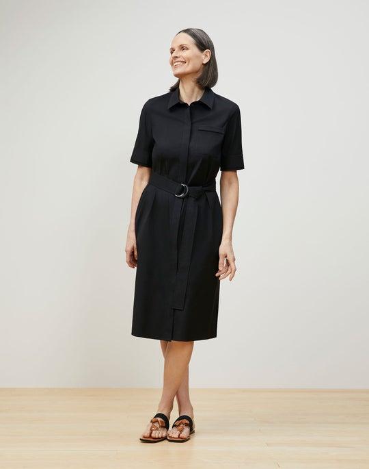 Stella Shirtdress In Classic Stretch Cotton