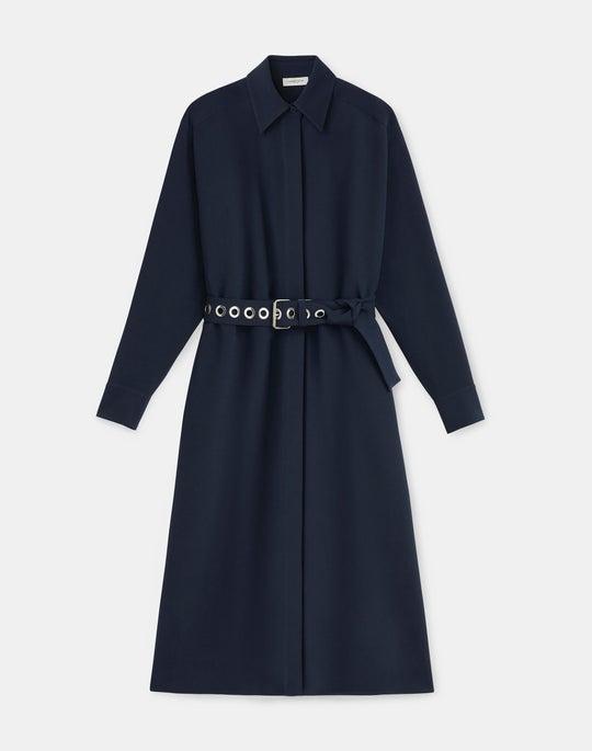 Livia Dress In Finesse Crepe