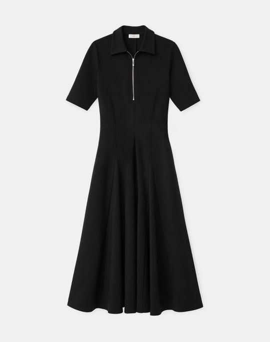 Petite Fallon Dress In KindMade Italian Punto Milano