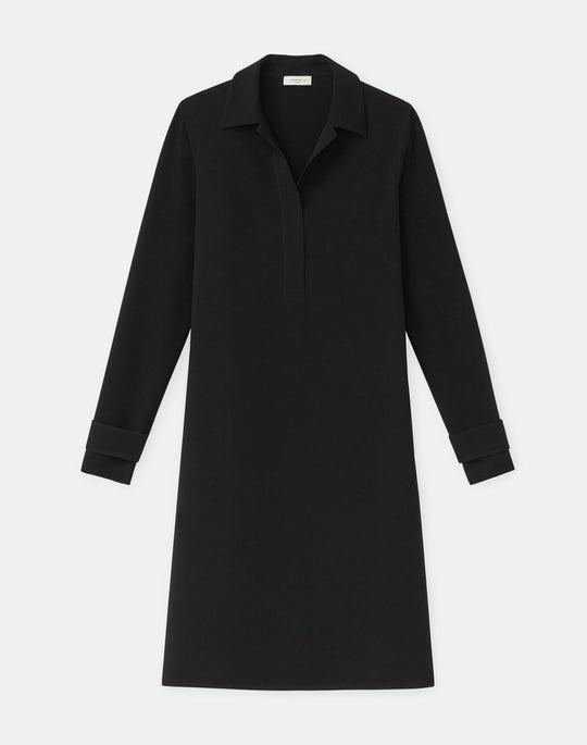 Plus-Size Finesse Crepe Graceton Dress