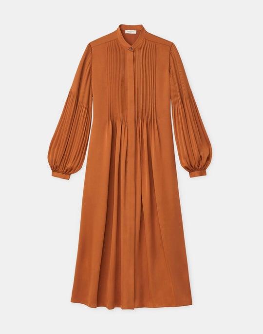 Layla Dress In Satin