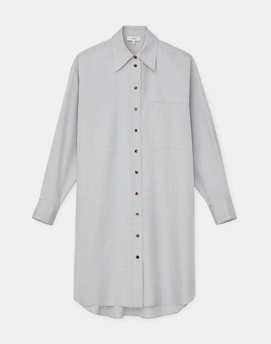 Rhea Shirtdress In Italian KindSilk