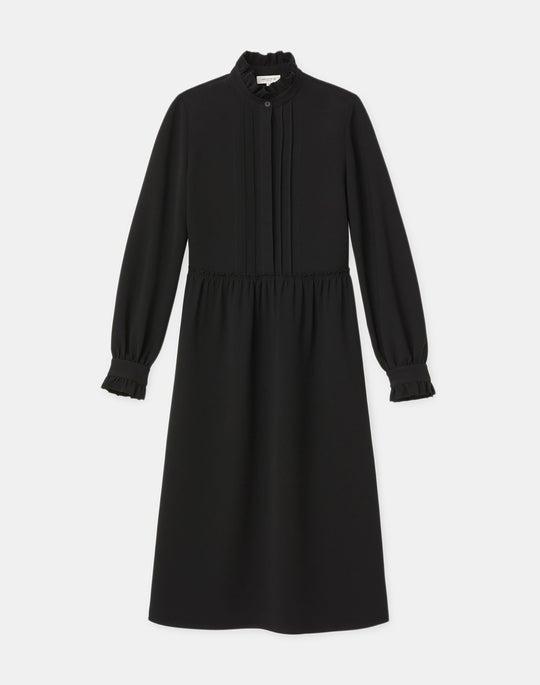 Roslyn Dress In Finesse Crepe