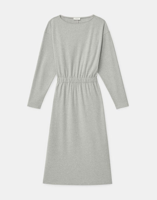 Harrison Dress In Finespun Italian Wool-Cashmere