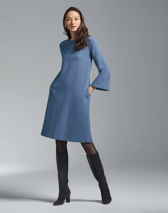 Lotus Dress and Claremont Boot