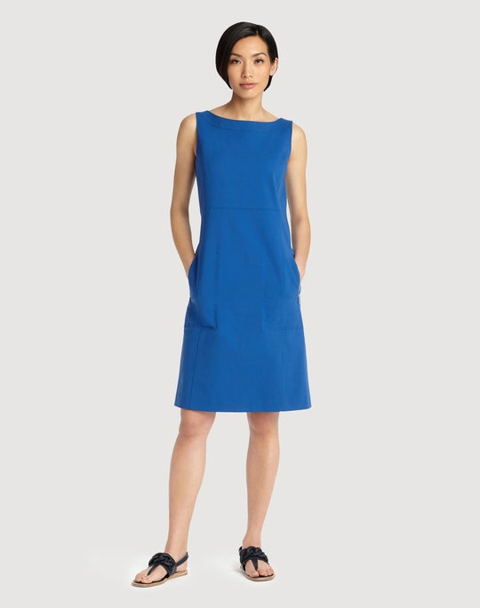 Petite Fundamental Bi-Stretch Paxton Dress