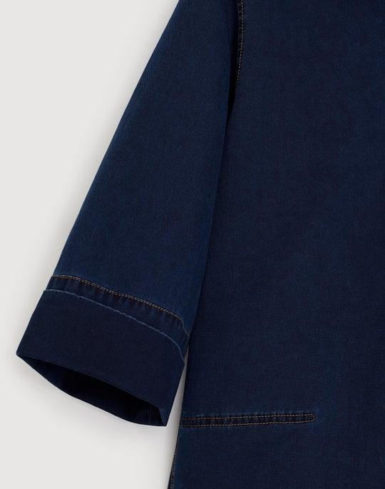 Plus-Size Equinox Denim Cara Dress