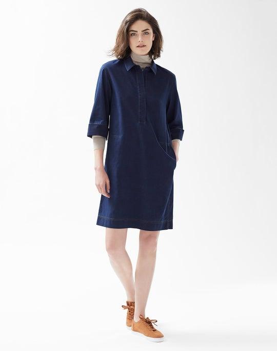 Cara Dress and Modern Turtleneck