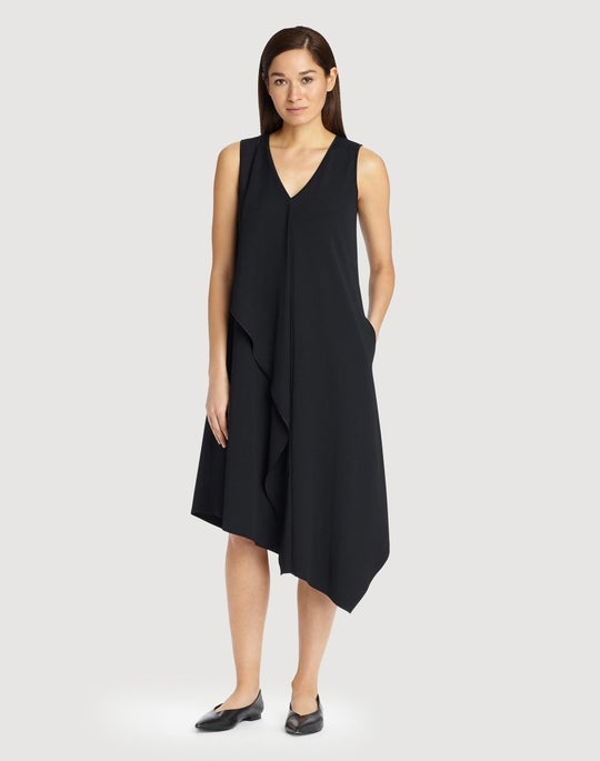 Fluid Crepe Jersey Costello Dress
