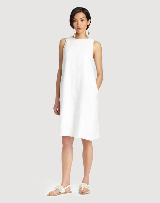 Plus-Size Lavish Linen Hana Dress