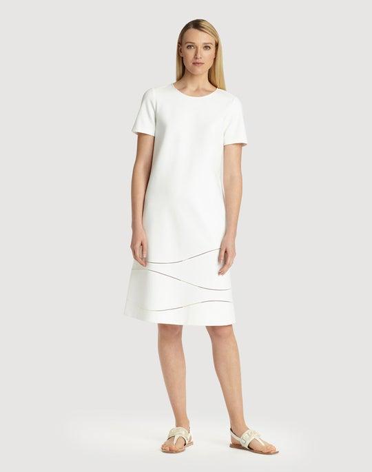 Plus Size Punto Milano Jasmin Dress Lafayette 148 New York