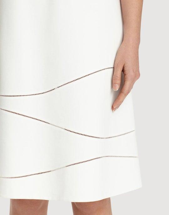 Plus-Size Punto Milano Jasmin Dress