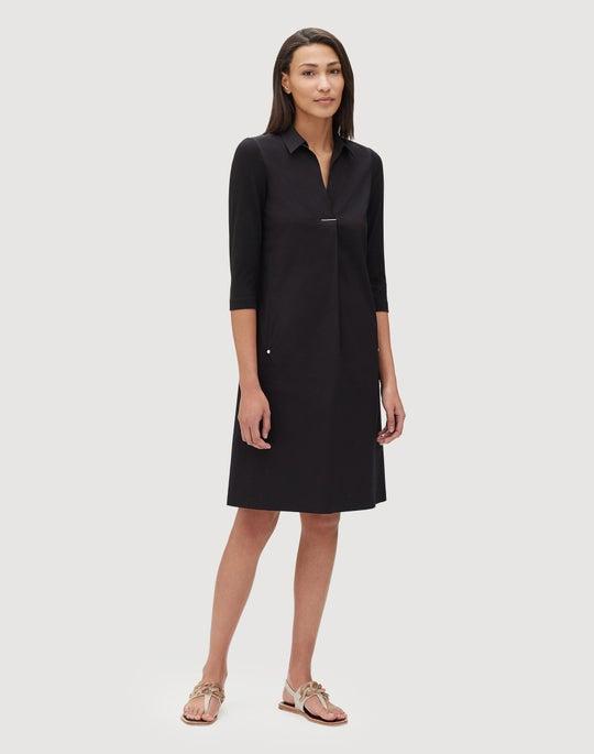 Plus-Size Classic Stretch Cotton Zac Dress