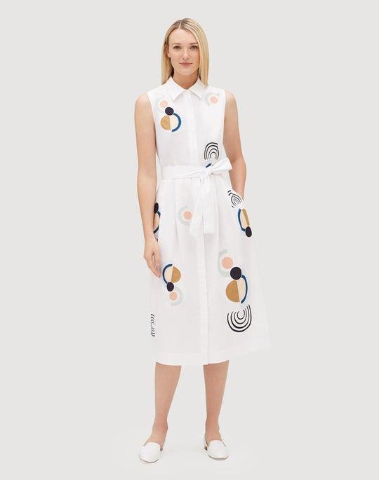 Petite Utility Cotton Estelle Dress