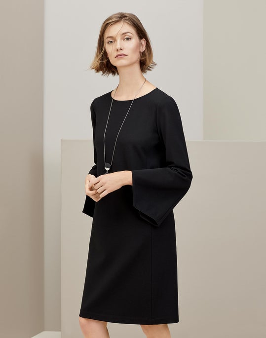 Paloma Dress and Two Disk Pendant