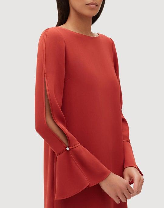 Plus-Size Finesse Crepe Jorie Dress
