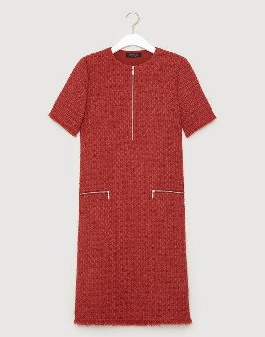 Zealous Bouclé Freja Dress