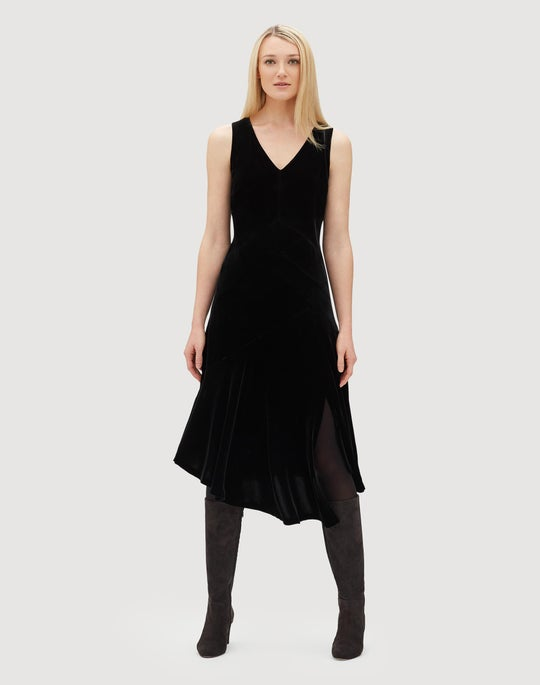 Classic Velvet Ashlena Dress
