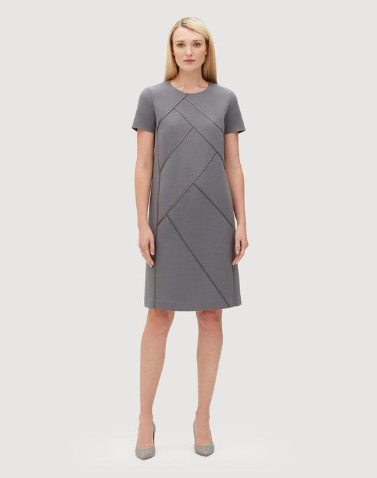 Plus-Size Nouveau Crepe Henora Dress