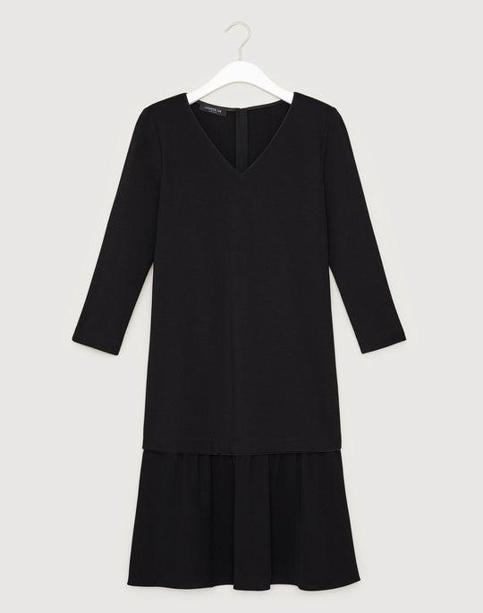 Petite Punto Milano Larsa Dress