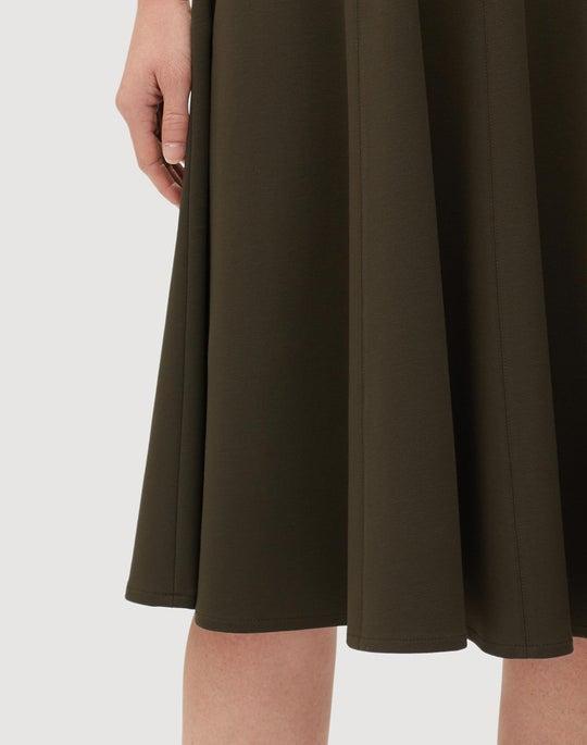Plus-Size-Size Punto Milano Topenga Dress