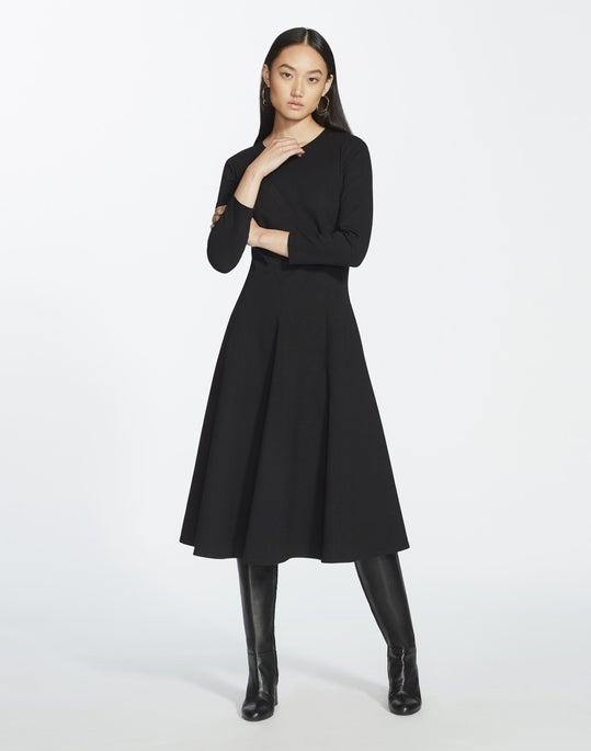 Plus-Size Punto Milano Topenga Dress