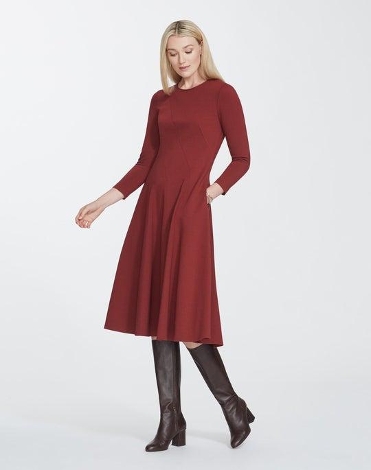 Petite Punto Milano Topenga Dress