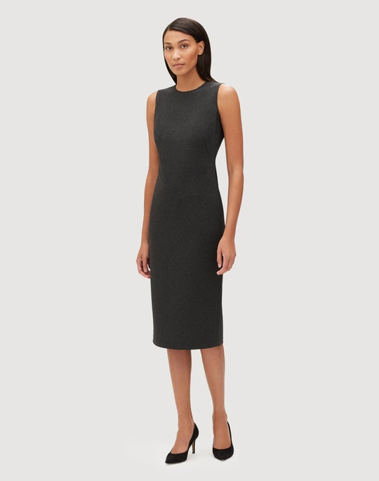 Petite Italian Stretch Twill Noshra Dress