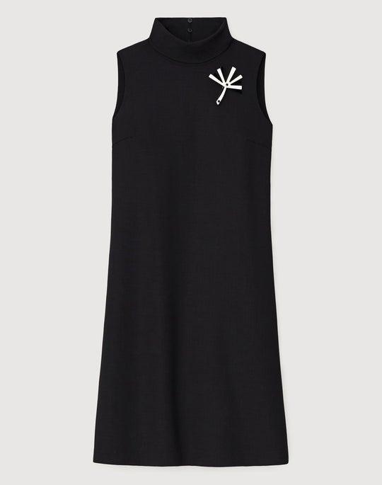 Luxe Italian Double-Face Lovisa Dress