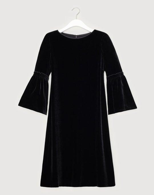 Plus-Size Classic Velvet Roslin Dress