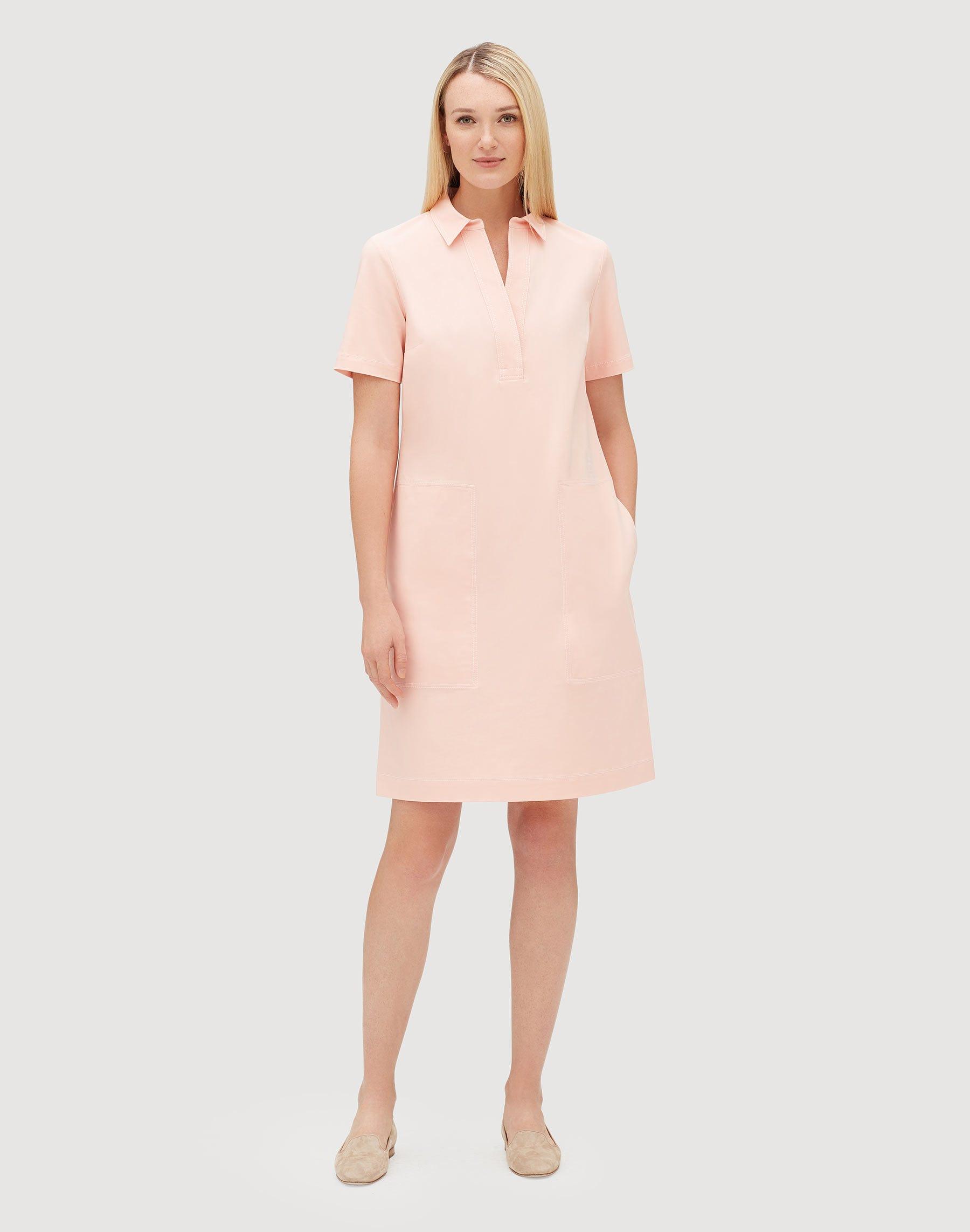 Plus-Size Fundamental Bi-Stretch Novella Dress   Lafayette 148 New York