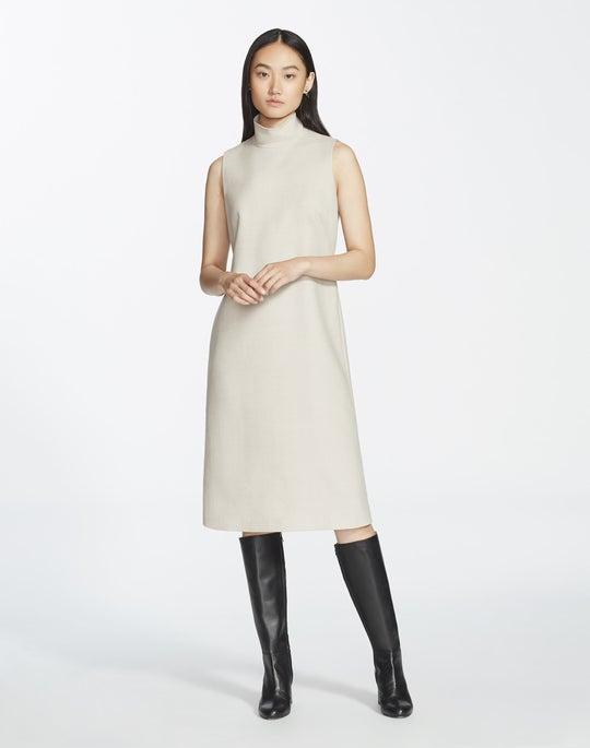 Distinctive Italian Wool Teresa Dress