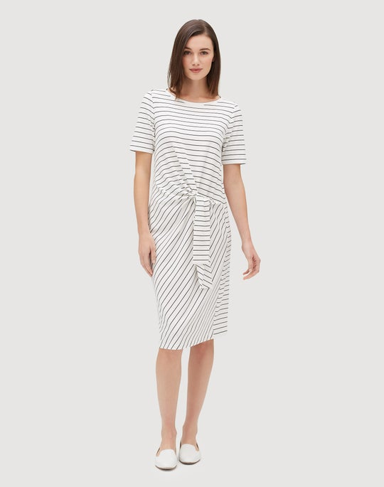 Stripe Terry Glendora Dress
