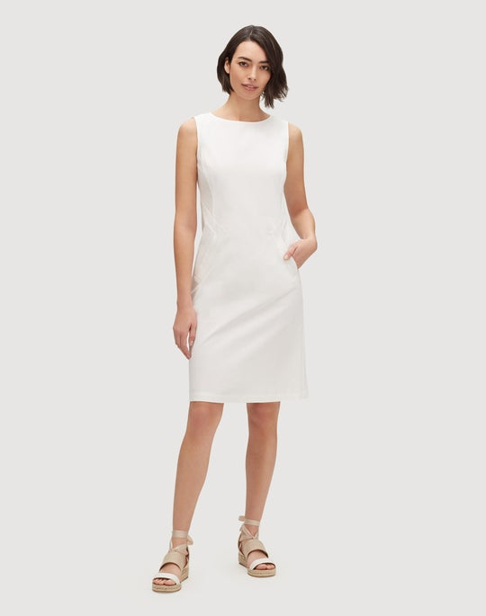 Petite Fundamental Bi-Stretch Ensley Dress