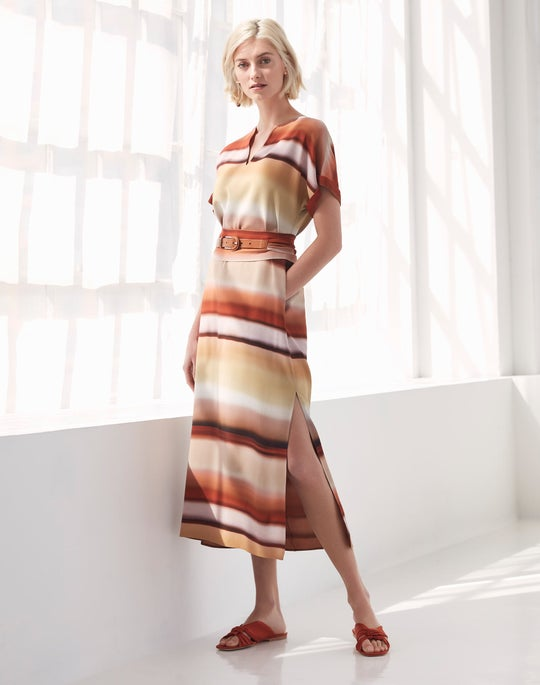 Belted Cosimia Dress