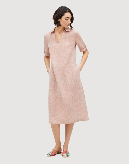 Illustrious Linen Maliyah Dress
