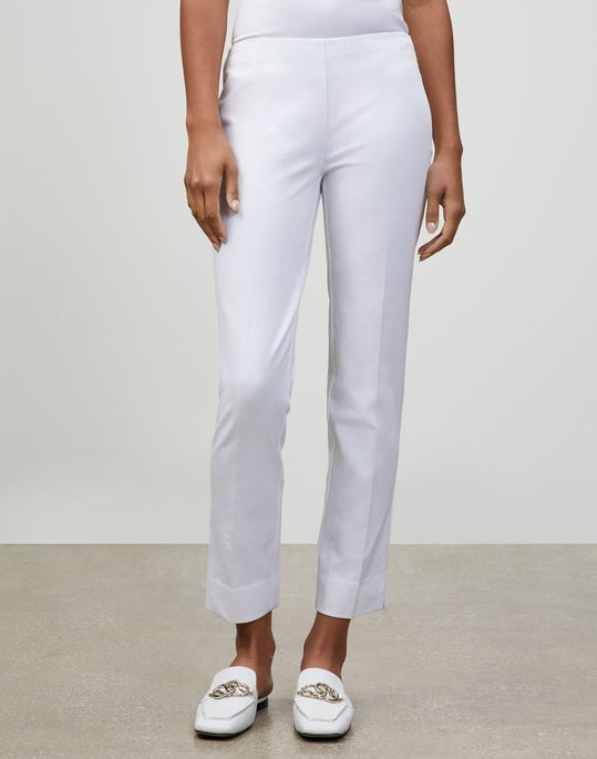 Plus-Size Jodhpur Cloth Front Zip Lexington Pant