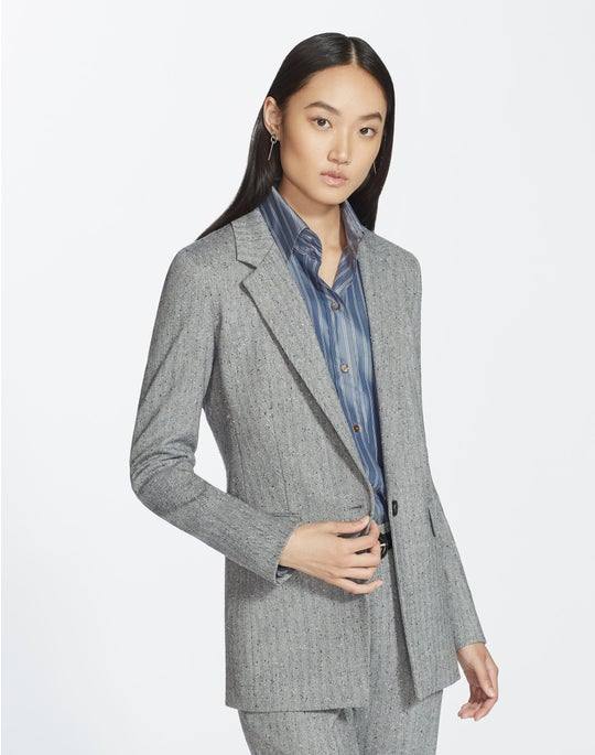 Speckled Herringbone Rhoda Blazer