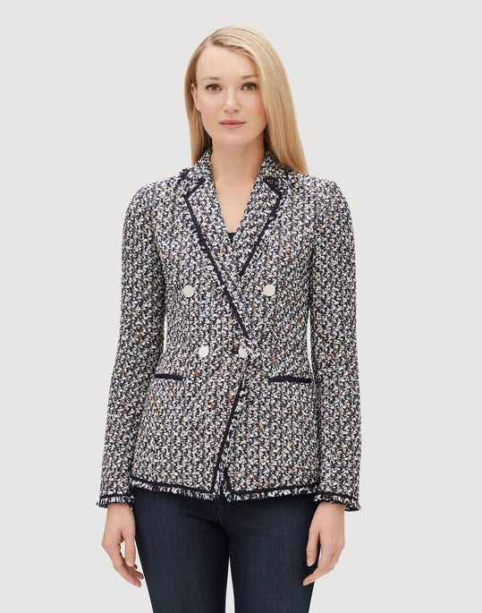 Petite Pedigree Tweed Devin Jacket