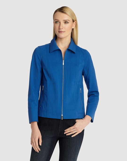 Petite Fundamental Bi-Stretch Chrissy Jacket